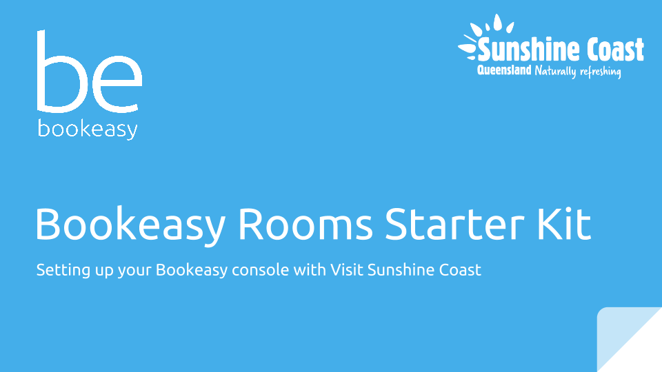 beRooms Starter Kit - Visit Sunshine Coast