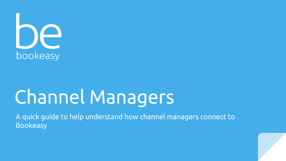 Understanding Channel Managers - Visit Sunshine Coast - Bookeasy