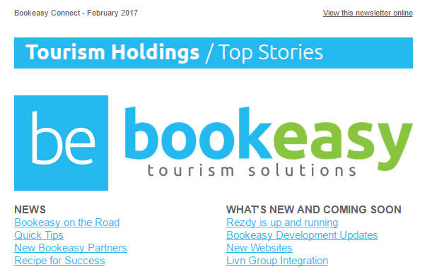 Bookeasy Connect February Edition Out Now!