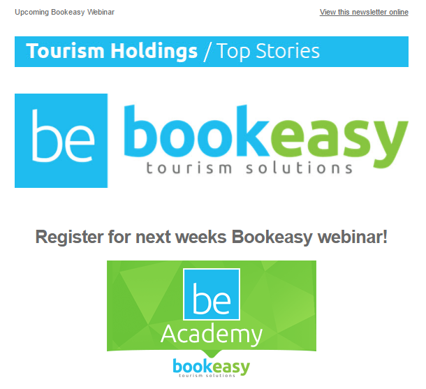 Upcoming Bookeasy Webinar - Register Now!